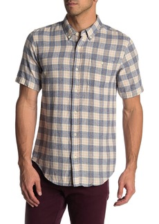 Ezekiel Marco Plaid Short Sleeve Regular Fit Shirt