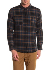 Ezekiel Maverick Plaid Print Regular Fit Woven Shirt