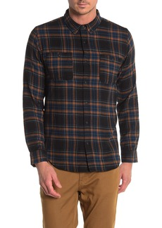Ezekiel Maverick Plaid Print Regular Fit Woven Shirt