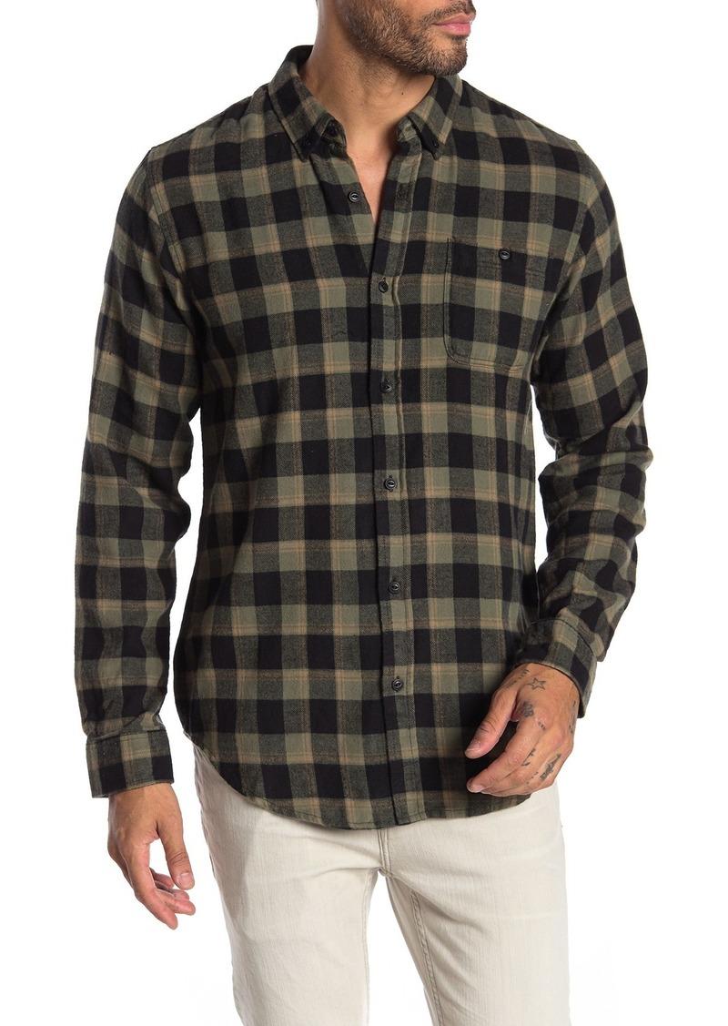 Ezekiel Milo Long Sleeve Woven Plaid Shirt