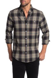 Ezekiel Modest Plaid Long Sleeve Shirt