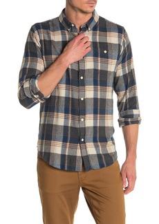 Ezekiel Nathan Plaid Print Regular Fit Woven Shirt