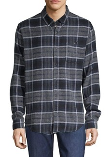 Ezekiel Nirvana Plaid Button-Down Shirt