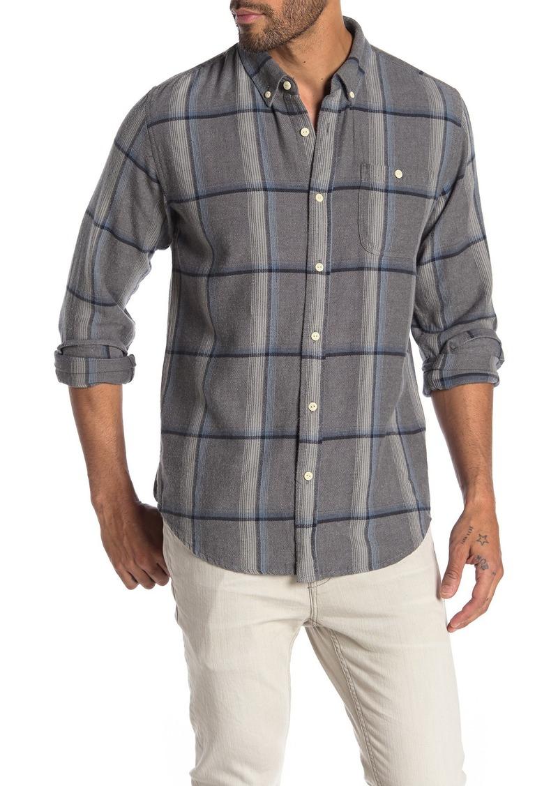 Ezekiel Otis Long Sleeve Woven Plaid Shirt