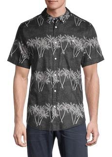 Ezekiel Palm Dreams Short-Sleeve Shirt