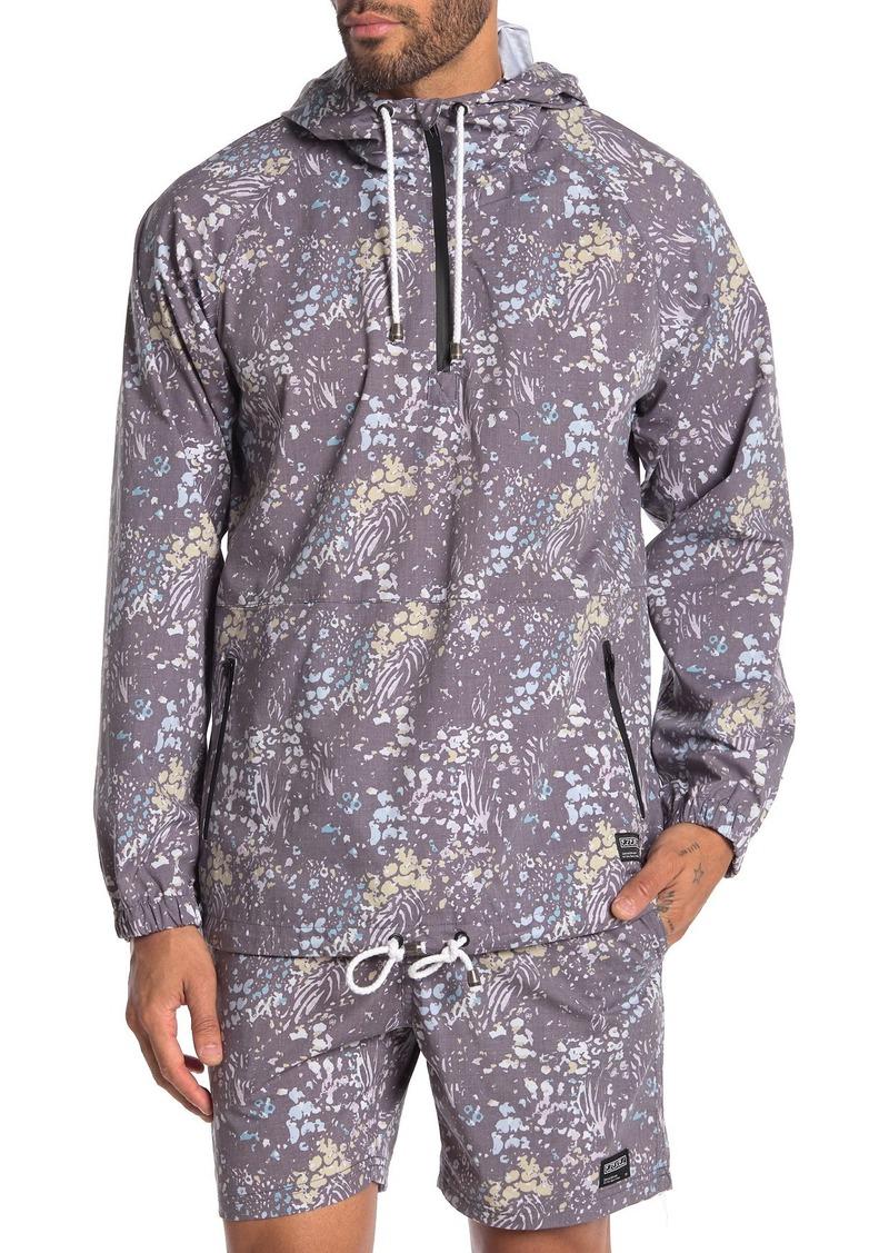 Ezekiel Panther Quarter Zip Hooded Jacket