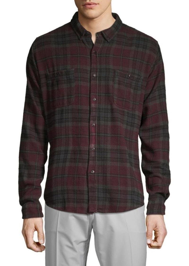 Ezekiel Plaid Button-Down Shirt