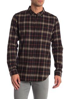 Ezekiel Prime Plaid Long Sleeve Woven Shirt
