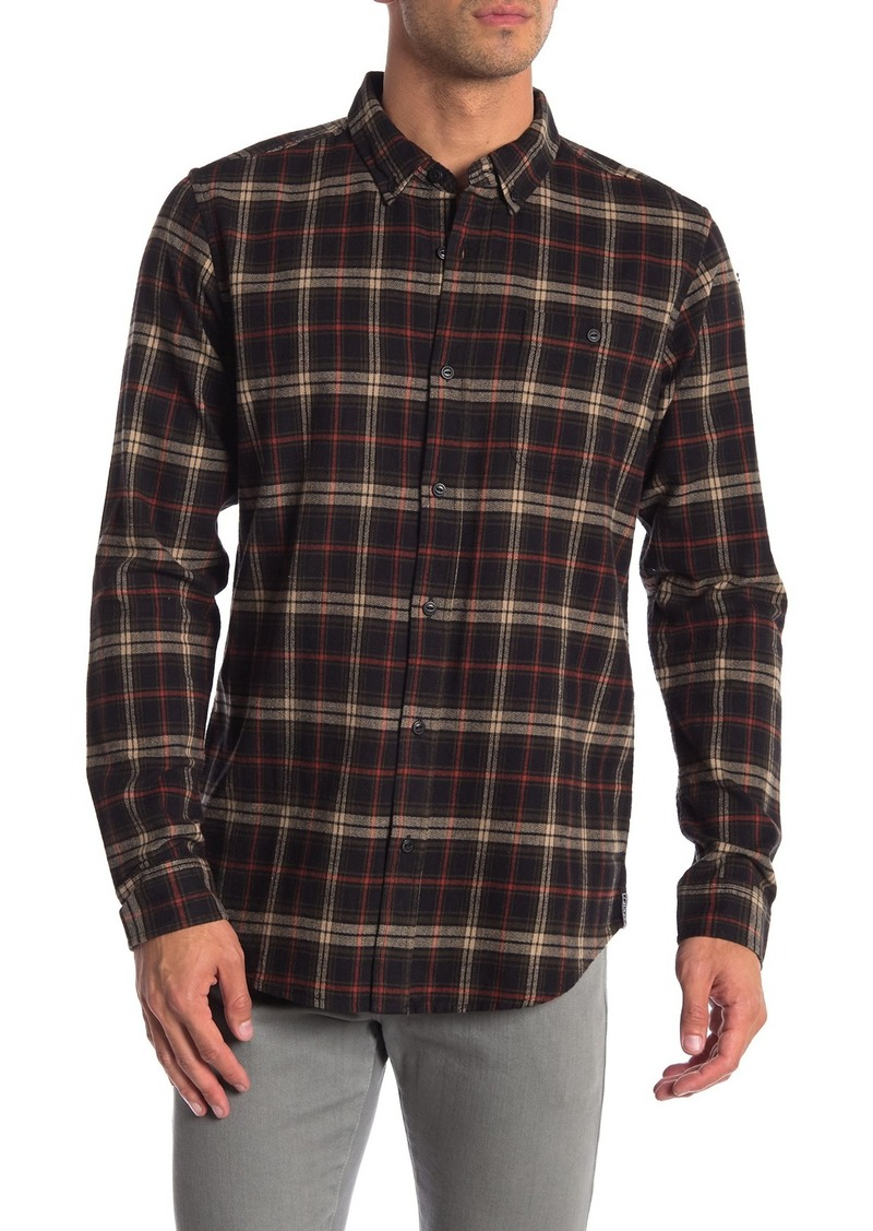 Ezekiel Slim Fit Prime Plaid Long Sleeve Woven Shirt