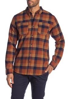 Ezekiel Ridgeway Plaid Long Sleeve Regular Fit Shirt