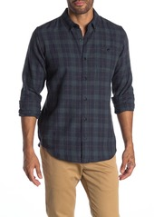 Ezekiel Scottdale Plaid Long Sleeve Woven Regular Fit Shirt