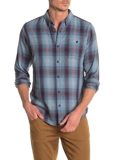 Ezekiel Sonora Plaid Print Regular Fit Woven Shirt
