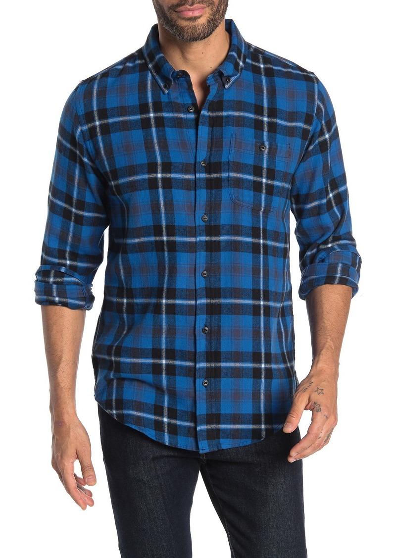 Ezekiel Spade Plaid Print Regular Fit Woven Shirt