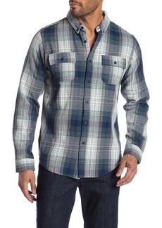 Ezekiel Sullivan Plaid Long Sleeve Regular Fit Shirt