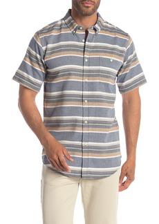 Ezekiel Sunset Stripe Modern Fit Woven Shirt
