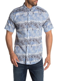 Ezekiel Twisted Palms Short Sleeve Regular Fit Shirt