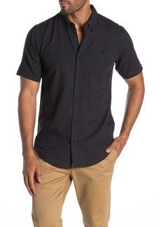 Ezekiel Vandall Glenplaid Short Sleeve Modern Fit Shirt