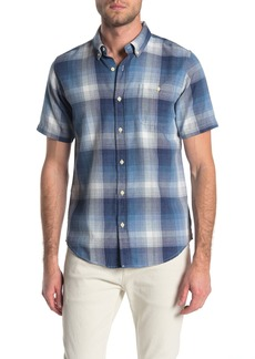 Ezekiel Voodoo Short Sleeve Plaid Print Regular Fit Woven Shirt