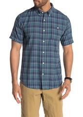 Ezekiel York Plaid Flannel Short Sleeve Regular Fit Shirt