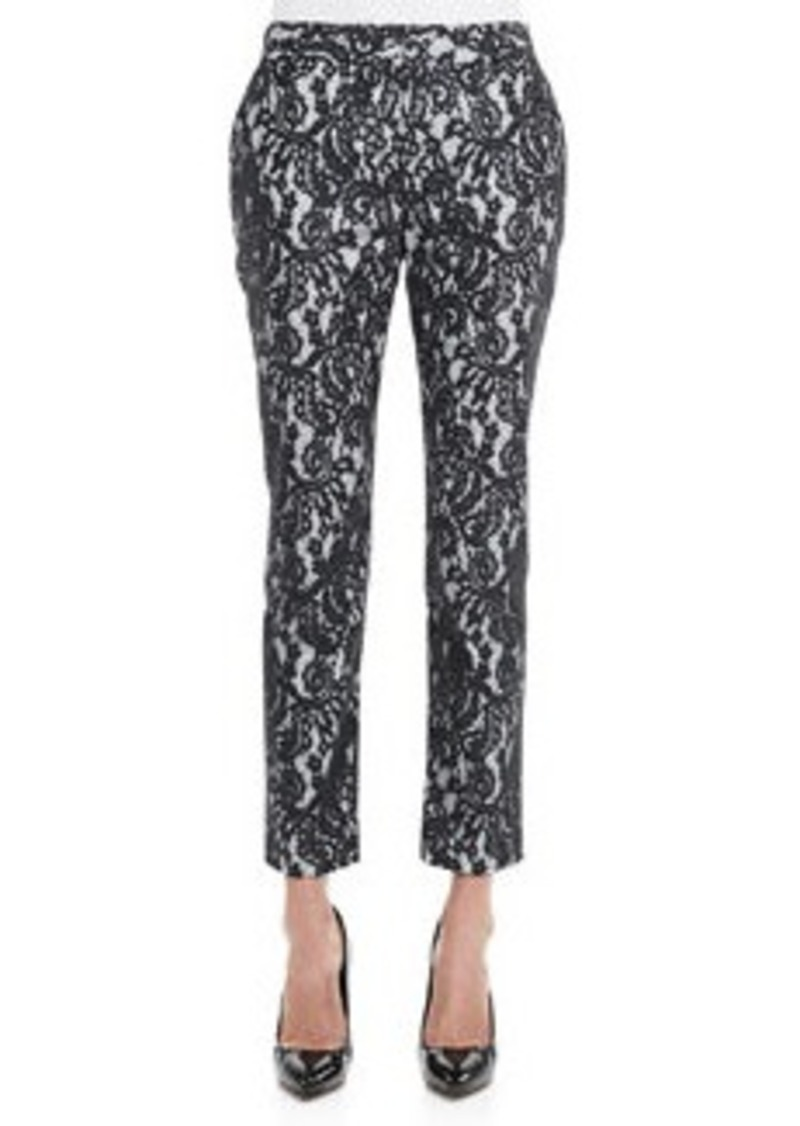 Catherine Malandrino Christy Cropped Lace Pants   Christy Cropped Lace Pants