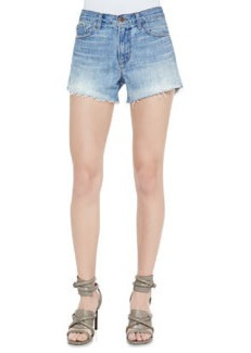 J Brand Carly Reflection Denim Shorts   Carly Reflection Denim Shorts