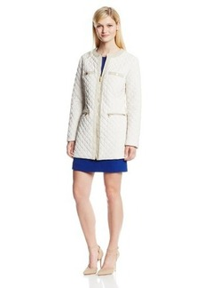 Jones New York Women's Quilted Lightweight Jacket