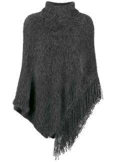 Fabiana Filippi asymmetric knitted poncho