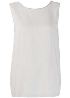 Fabiana Filippi ball-chain neck blouse