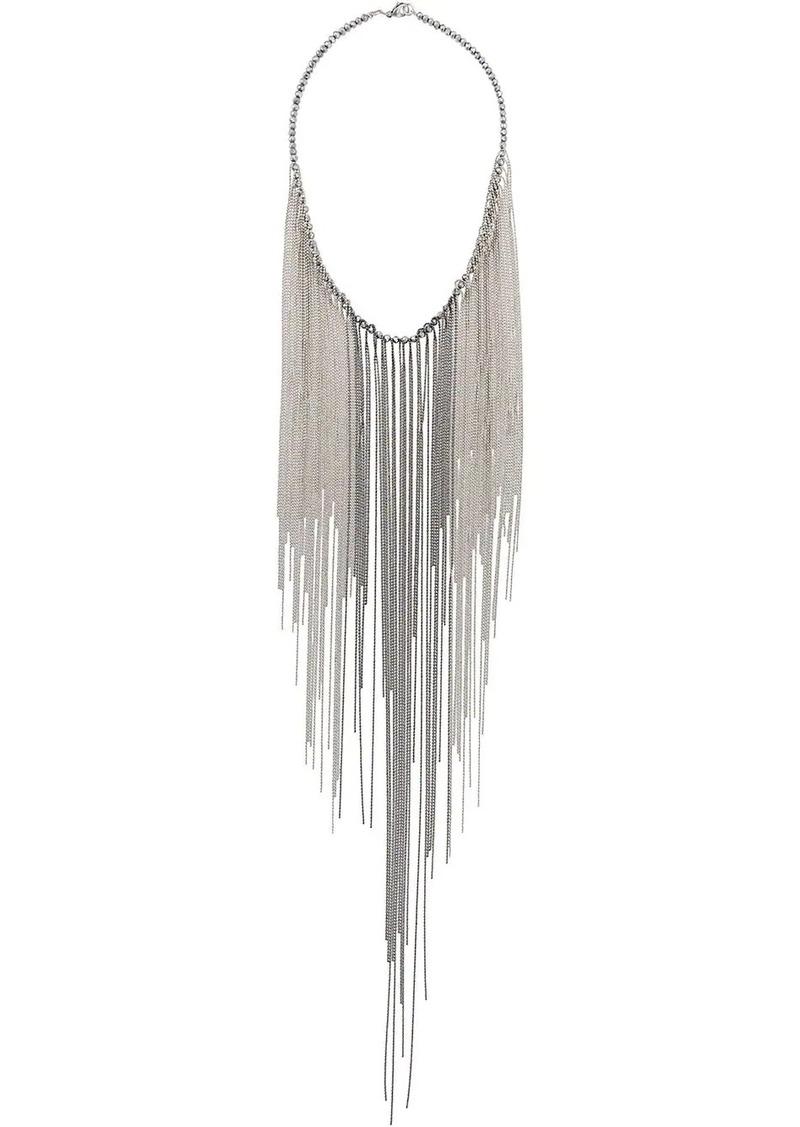 Fabiana Filippi beaded large pendant necklace