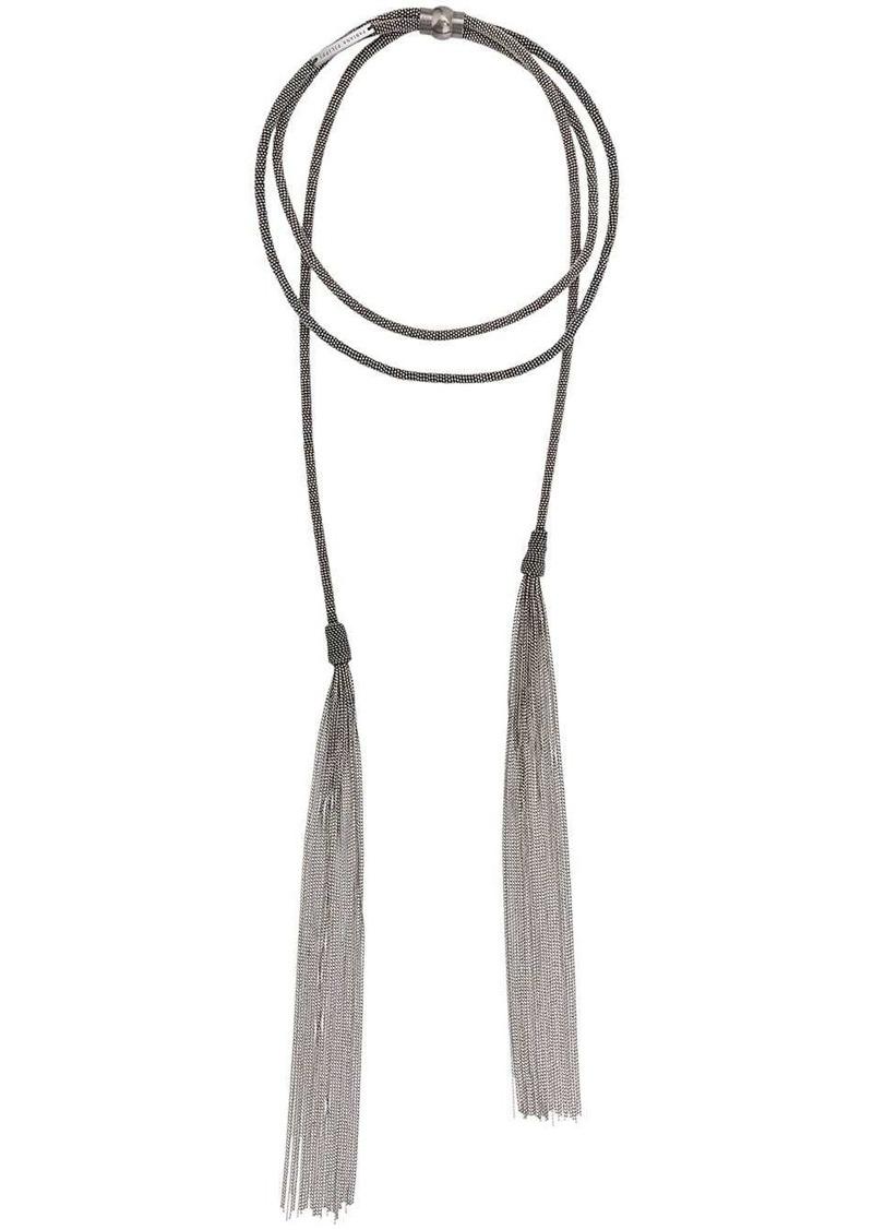 Fabiana Filippi beaded tassel necklace