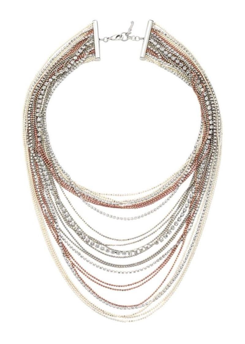 Fabiana Filippi Brilliant Multi-Strand Necklace