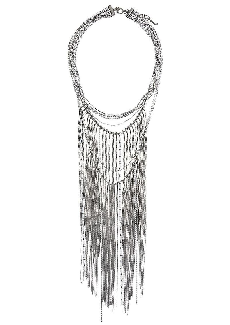 Fabiana Filippi chain fringed necklace