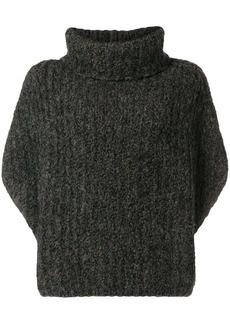 Fabiana Filippi chunky knit cropped sleeve sweater