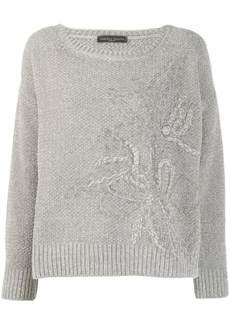 Fabiana Filippi chunky knitted sweater