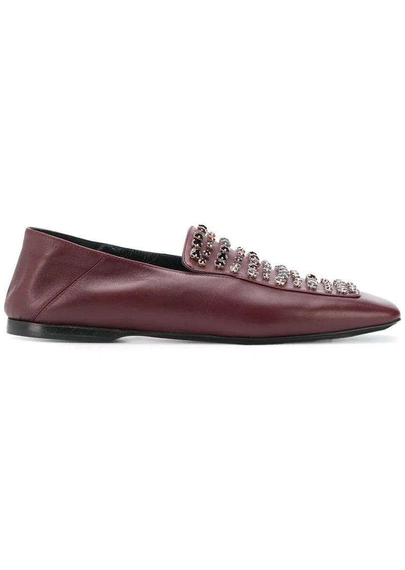 Fabiana Filippi crystal-embellished loafers