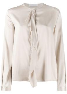 Fabiana Filippi drape-front silk blouse
