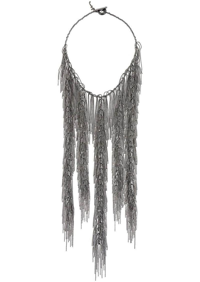 Fabiana Filippi Elisa rhinestone necklace
