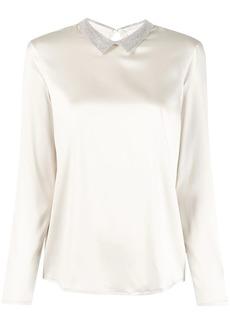 Fabiana Filippi embellished collar blouse
