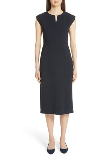 Fabiana Filippi Beaded Crepe Dress
