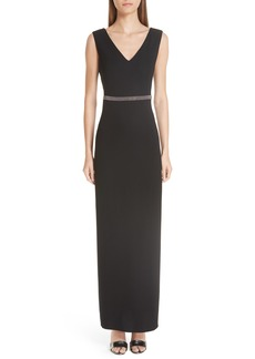 Fabiana Filippi Beaded Maxi Dress