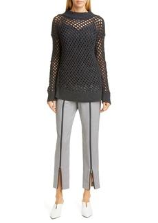 Fabiana Filippi Beaded Net Cashmere Sweater