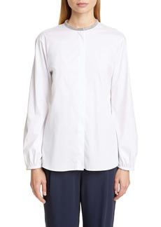 Fabiana Filippi Chain Trim Shirt