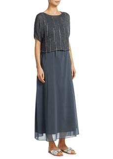 Fabiana Filippi Knit Lurex Silk Dress