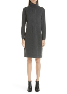 Fabiana Filippi Knit Turtleneck Dress
