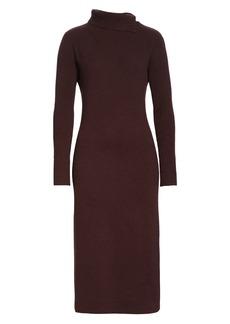 Fabiana Filippi Long Sleeve Wool, Silk & Cashmere Sweater Dress