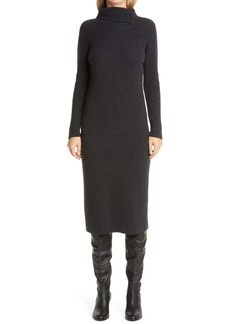Fabiana Filippi Long Sleeve Wool, Silk & Cashmere Sweater Dress