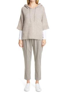 Fabiana Filippi Pinstripe Wool Pants