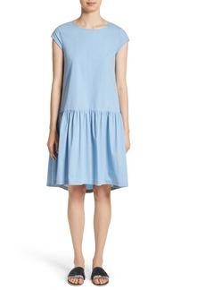 Fabiana Filippi Poplin Drop Waist Dress