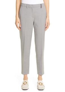 Fabiana Filippi Straight Leg Crop Trousers