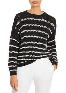 Fabiana Filippi Striped Chunky Knit Sweater